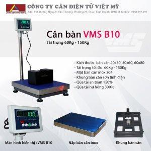 CÂN BÀN ĐIỆN TỬ VMS B10